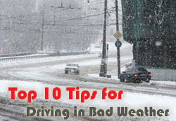 bad weather driving tips for travel nurses