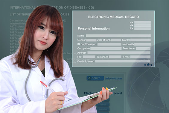 RN using Electronic Medical Records