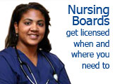 nursing boards list