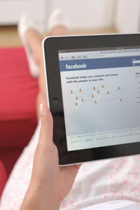 social media and facebook use for nurses