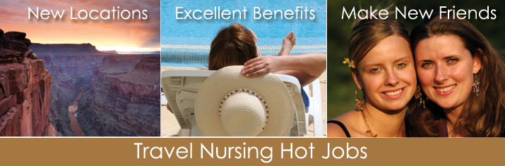 Travel Nursing Hot Jobs