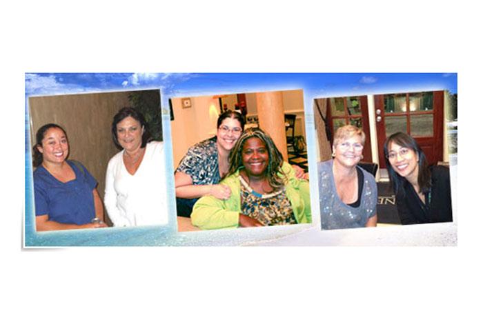 Travel Nurses on Spring Break