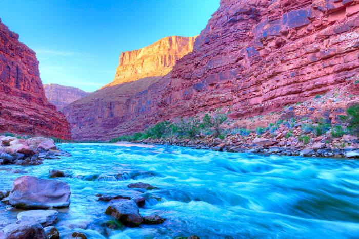 Reflection on River at Colorado