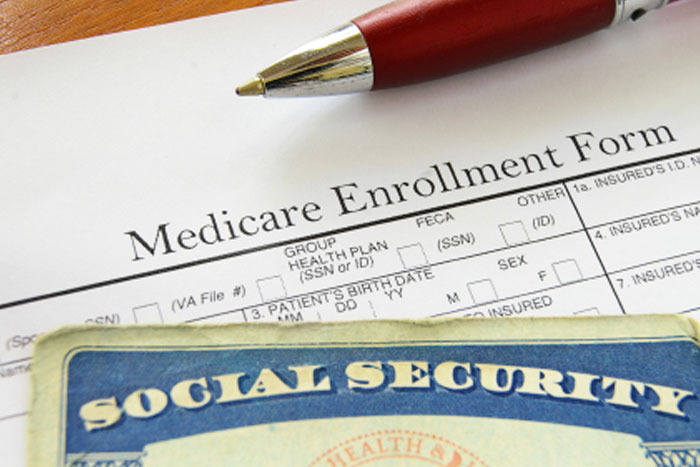 Social Security Card and Medical Form