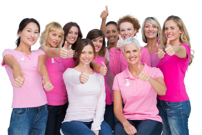 Nurses walk for Breast Cancer