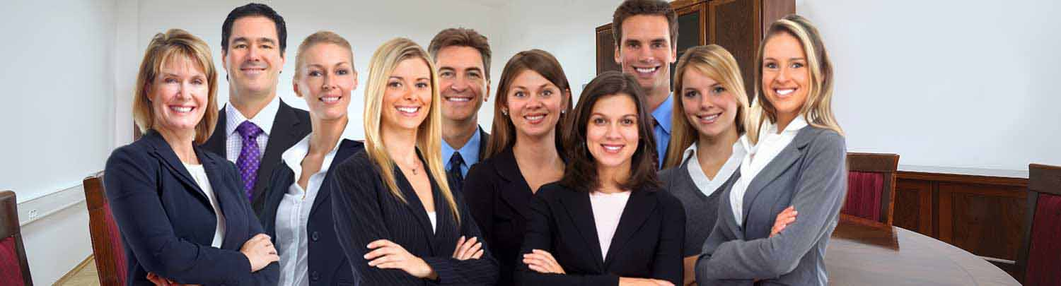Diverse group of business people - corporate jobs at American Traveler Staffing