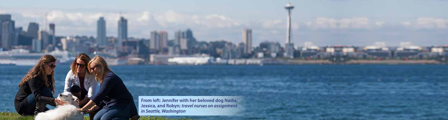 Travel nurses in Seattle, WA