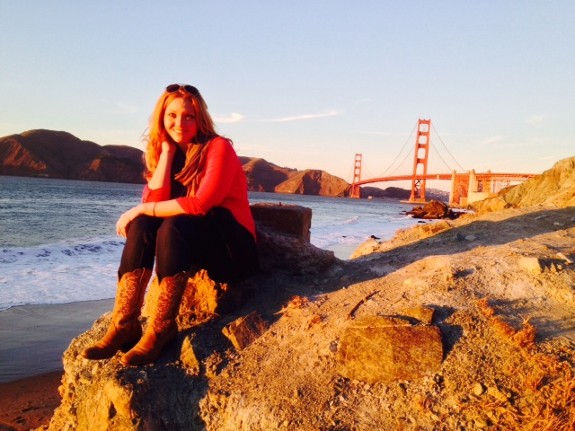 Ashly at the Golden Gate