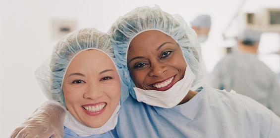 Heart Healthy Female Nurse