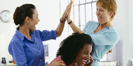 Nurses High Five