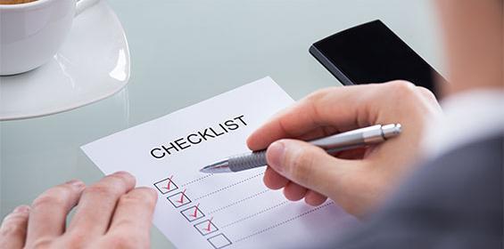 Travel Nurse Job List of Documents