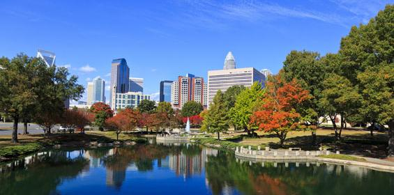 Charlotte, North Carolina Skyline
