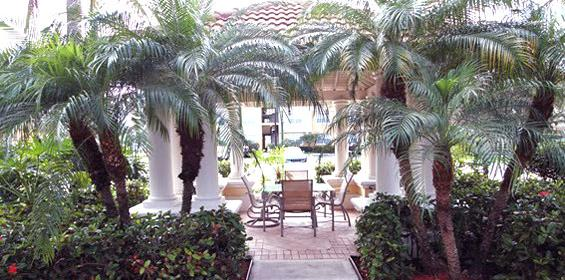 Free Private Housing benefit with cozy outdoor gazebo while travel nursing in Florida