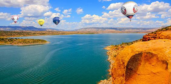 Amazing Lake Abiquiu in New Mexico