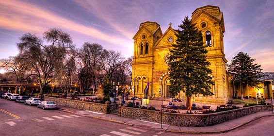 Cathedral Basilica of St Francis of Assisi in Santa Fe, New Mexico