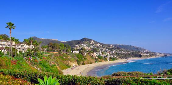 Orange County ocean beach house