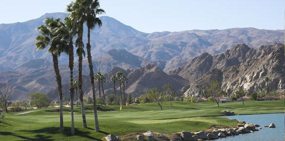 Palm Springs PGA West Golf Course