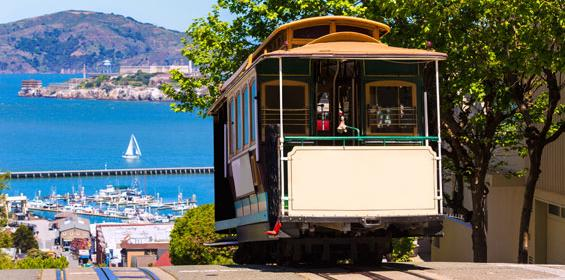 San Francisco Hyde Street cable car