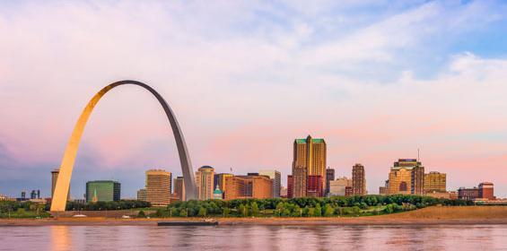 St. Louis, Missouri Gateway Arch