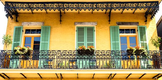 Louisiana Architecture in New Orleans