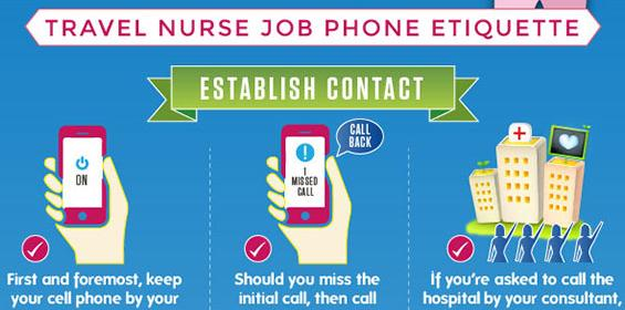 Infographics: Phone Interview Tips For Travel Nurses