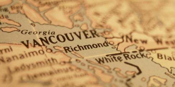 Vancouver Canada Map