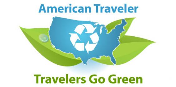 American Traveler Goes Green