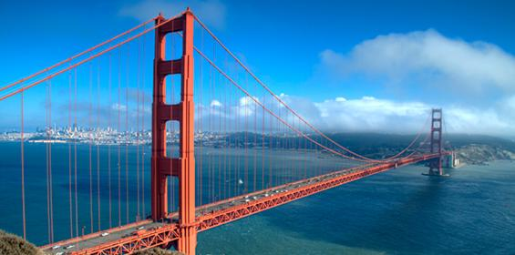 Golden Gate bridge - California travel nursing