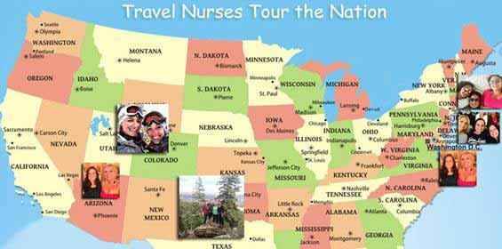 Trail Blazing Travel Nurses:  Where Are They Going, Where Have They Been?