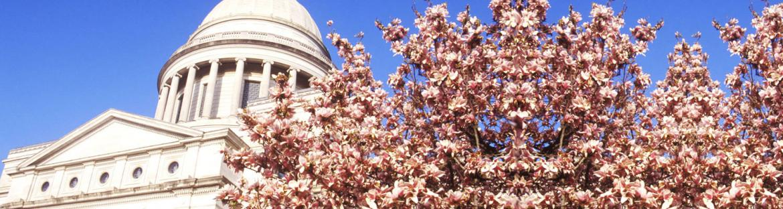 Capitol building in Arkansas