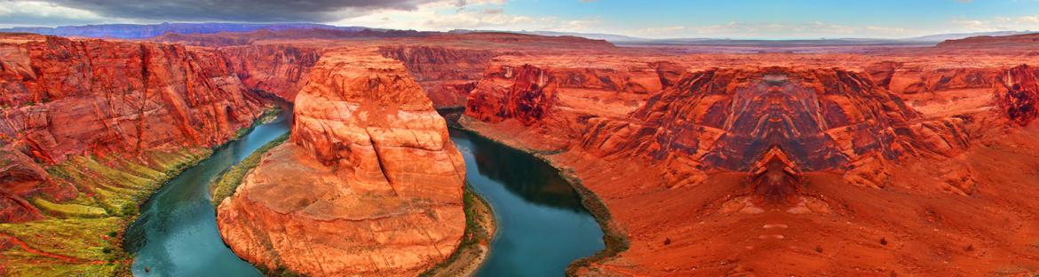 Beautiful Northen Arizona landscape - Famous Horseshoe Bend
