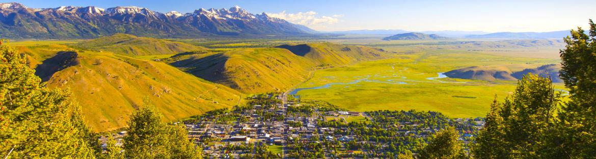 The City of Jackson Hole, Wyoming
