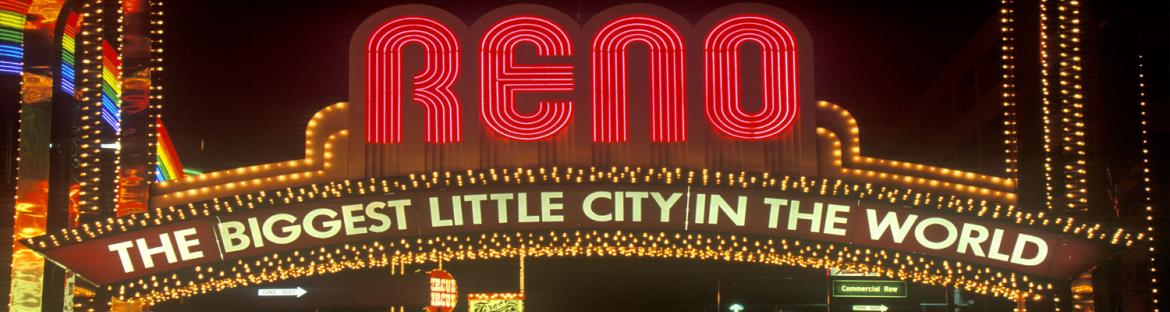 Reno, Nevada Welcome sign