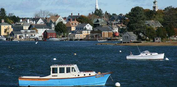 Portsmouth, New Hampshire in Autumn