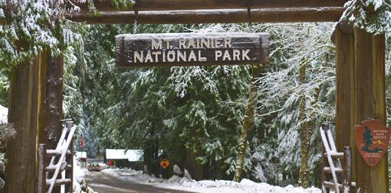 Seattle, Washington Mount Rainier