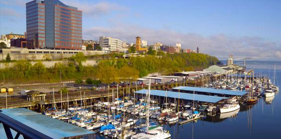 Tacoma, Washington view of the Puget Sound